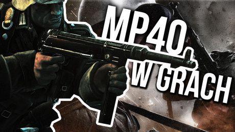 Obowiązkowa broń w każdej drugowojennej strzelance - MP40 w grach