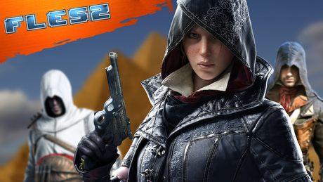 Assassin's Creed trafi do Egiptu? Premiera w 2017? FLESZ – 5 stycznia 2016