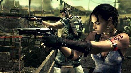 Gramy w Resident Evil 5 PC - bagna