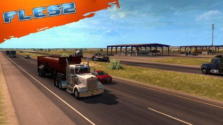 Ciężarówki zmierzają do Nowego Meksyku. FLESZ – 7 lutego 2017