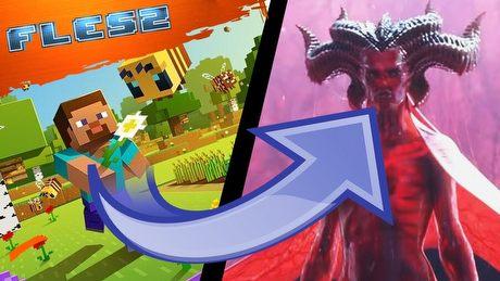 Dzień, w którym Minecraft zamieni się w Diablo. FLESZ – 31 marca 2020