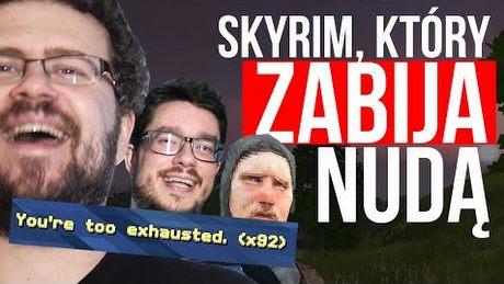 Skyrim, który zabija nudą – Gry z Kosza