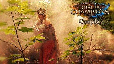Might & Magic: Duel of Champions - kulisy sesji cosplay
