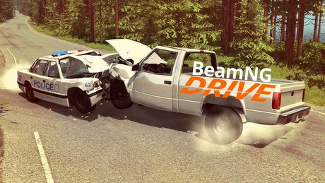 Pierwsza liga fizyki zniszczeń – test zderzeniowy BeamNG Drive (Samiec Alfa #41)