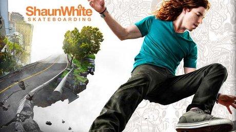 Shaun White Skateboarding w akcji
