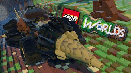LEGO rzuca wyzwanie Minecraftowi – gramy w LEGO Worlds (Samiec Alfa #39)