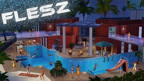 FLESZ – 2 października 2014. Baseny wrócą do The Sims 4