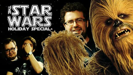 Święta tvgry.pl z rodziną Chewbacci - oglądamy Star Wars Holiday Special!