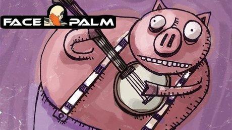 Facepalm - świniomiętka