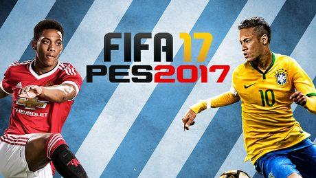Podwójna zapowiedź FIFA 17 i PES 2017 - co nas czeka w piłce w tym roku?