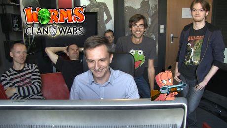 Zmagania w Worms: Clan Wars - czyli redakcyjna batalia na robale!