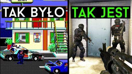 Serie gier, które zmieniły się NAJBARDZIEJ