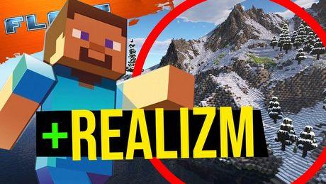 Minecraft ma bardziej realistyczne góry. FLESZ - 5 marca 2021