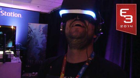E3 2014 - Wirtualny zawrót głowy z rewolucyjnym Project Morpheus