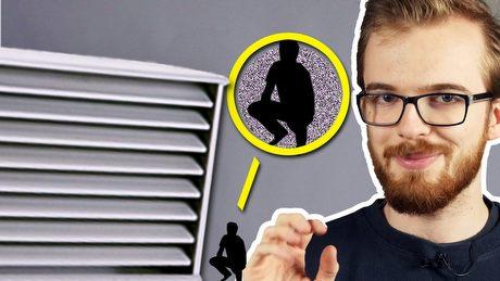 Czemu szyby wentylacyjne w grach są OGROMNE?