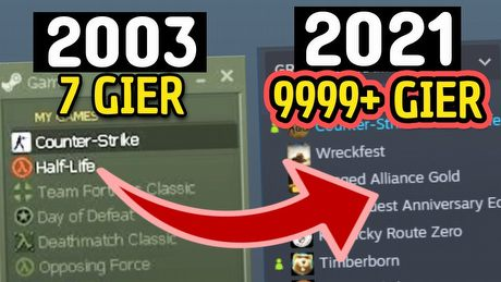 Jak Steam zmieniał się przez 18 lat
