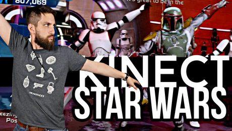 Tvgry kontra Kinect Star Wars