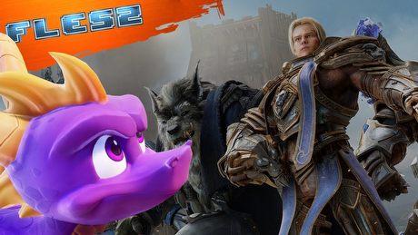 Spyro powraca, Battle for Azeroth ma datę premiery! FLESZ – 5 kwietnia 2018