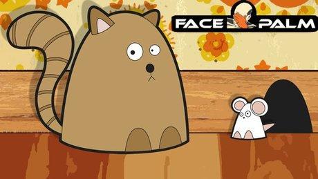 Facepalm - kocia rozgrywka