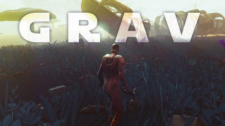 GRAV - sandboksowy survival w klimatach sci-fi (Samiec Alfa #28)