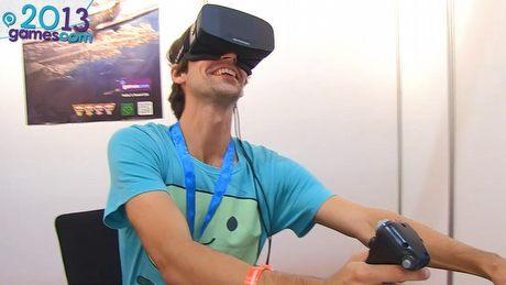 Widzieliśmy Oculus Rift HD w akcji! - gamescom 2013