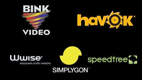 Technologie z ekranów startowych - czym są Havok, Bink, Wwise?