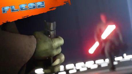 Yoda vs Darth Maul? Oto Battlefront II. FLESZ - 12 kwietnia 2017