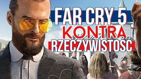Fabuła Far Cry 5 kontra rzeczywistość