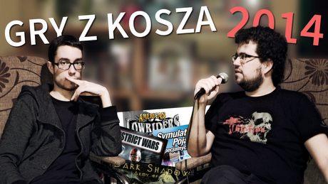 Gry z Kosza 2014 – nasze ulubione najgorsze gry i kulisy programu