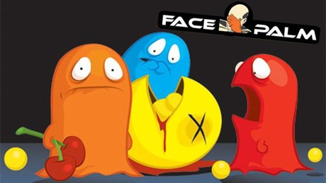Facepalm - żółte kropki