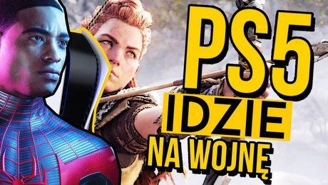 Jak PS5 chce wygrać kolejną wojnę konsol