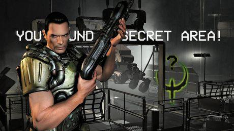 Nosem w ścianie, czyli sekrety w grach FPS