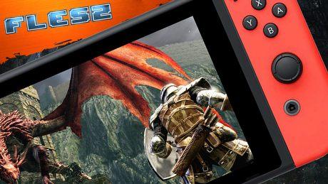 Jak wygląda Dark Souls na Switchu? FLESZ – 9 kwietnia 2018