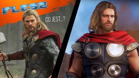 Gra Avengers wygląda nieco inaczej niż filmy. FLESZ – 11 czerwca 2019