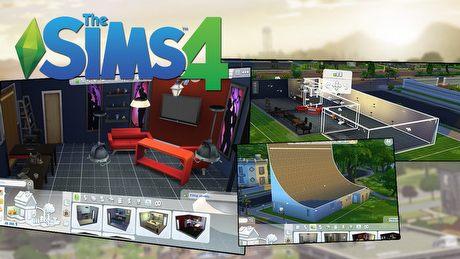 Budowanie w The Sims 4 - siedlisko tvgry.pl w całej okazałości