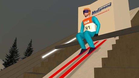 Deluxe Ski Jump 4 - gramy w Małysza!