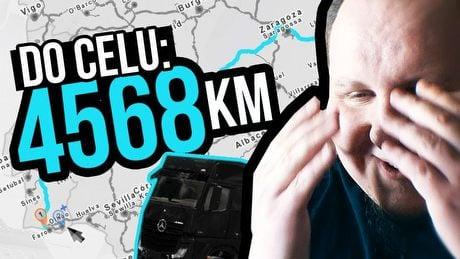 Ile godzin zajmie mi najdłuższa trasa w Euro Trucku