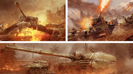 World of Tanks vs War Thunder vs Armored Warfare - pojedynek gier czołgowych