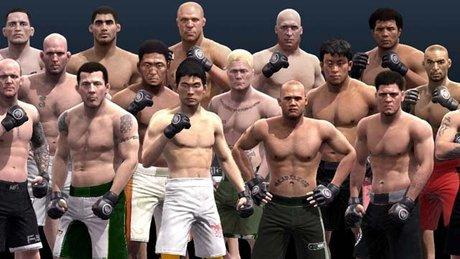 EA Sports MMA - trening i walka