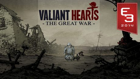 E3 2014 - Gramy w Valiant Hearts: The Great War - ta gra ma EMOCJE